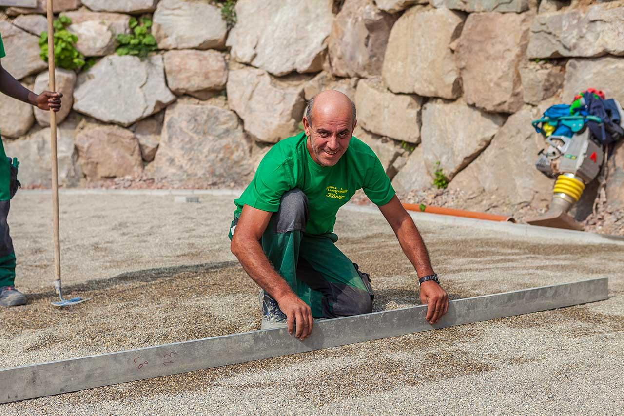 Francesco Vinci - Vorarbeiter für Pflaster und Natursteinarbeiten